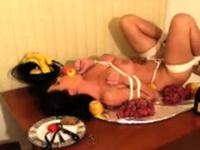 Kiny brunette chick enjoys hardcore pussy fuck and bdsm