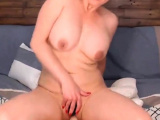 Huge Tits Chick Plays Her Hole on Cam