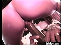 Black stud loves to drill white pussy