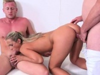Fellow assists with hymen physical and pounding of virgin ch