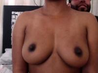 Latin doxy with pierced nipples