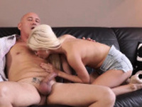 Amateur sugar daddy Horny platinum-blonde wants to
