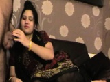 Mature Indian MILF Bhabhi Sucking Big Meaty Desi Cock