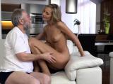 VIP4K. Young wife Jenny Smart enjoys pleasurable