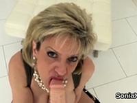 Unfaithful british milf lady sonia flaunts her huge k12FgK