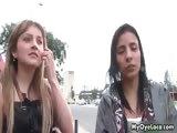 Two horny latina girls love having part1
