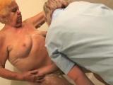 Old fat bbw granny stripped in bathroom