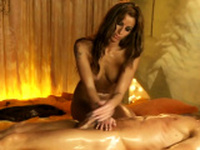 She Massage From Head To Cock and Special Oil Indoor