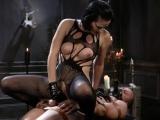 Horny Mistress Spanking Her Slave