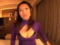 Sassy Miwako Yamamoto with impressive tits fucked hard
