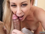 Big ass milf gym and gives handjob Cherie Deville in