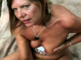Cool granny has a vast experience on wet and slippery Bj
