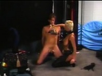 Dominatrix Abusing A Guys Cock