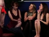 British femdom babes suck