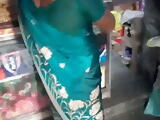 SATIN SILK SAREE MAID