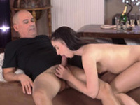 Teen girl strap on guy and amateur sucks like pro