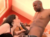 Playsome brunette Tessa Lane in extreme sex