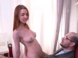 Innocent schoolgirl is seduced and rode by older teac13Lkj