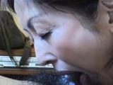 Close up of sexy Asian Amateur blowjob