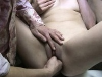 Boyfriend stuffs four fingers in my wet pussy loud orgasm