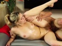 Hot pornstar hardcore and massage
