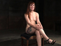 Redhead bound sub gets dominated with toys