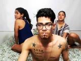 Bad Girl Webcam Teen Threesome