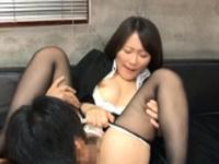 Dissolute eastern cougar Kozue Hirayama gets banged well