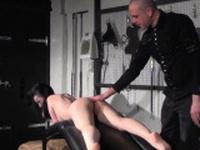 Amateur spanking of Faye Corbin