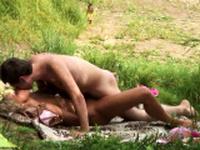 Voyeur at crowded girls nudist beach