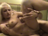Hot blonde hottie attacks wang with mouth