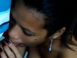 Hot-tempered teen Charmaine gets a big meat