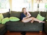 Tempting brunette Blair Williams adores blowjobs