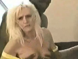 Housewife and MILF interracial threesome with passion