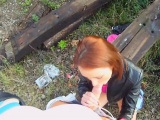 Alluring teen girl Lizaveta K bounces on fat meat