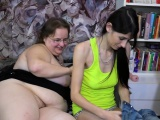 OldNannY Old and Young Lesbians Toying