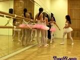 Sexy teen lesbians scissoring Hot ballet woman orgy