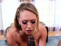 Sassy blonde hottie Kagney Linn Karter gets nailed nicely
