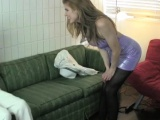 Fur pie aperture gets and is penetrated doggy style