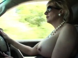 Cheating british mature lady sonia shows her enormous breast