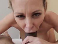 Double penetration milf blonde lingerie Cherie Deville in