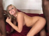 Kinky Stacey pleasures two long members