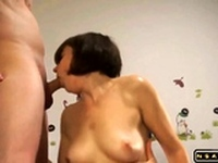 Fucked by wifes together with a stranger