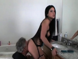 Fuck stick works magic in insatiable bombshell s fanny