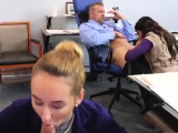 associates daughter gets spanked by dad and family part